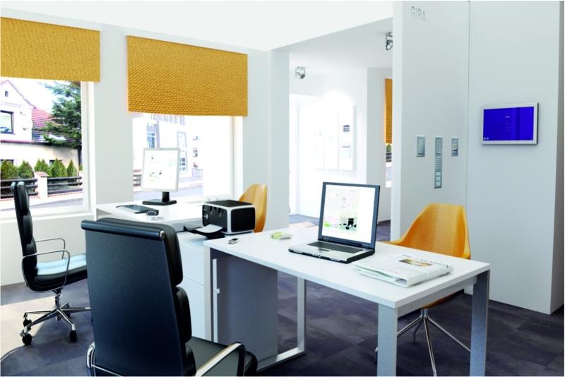 Projekt biura - wizualizacja wnętrza